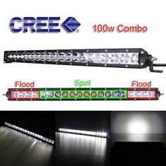 RioRand® RR-LDG100W 100W 6000k 23.3 inch Flood/Spot Combo Beam LED light CREE WORK LIGHT