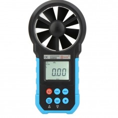 RioRand® EAM02 Digital Anemometer Air Velocity/Volume/Wind Speed/Area Meter Gauge Tester with LCD Backlight