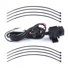 RioRand® Waterproof Dual USB Charger Motorcycle Cell-Phone Charging Port 12V to 5V/2.1A Power Adapter