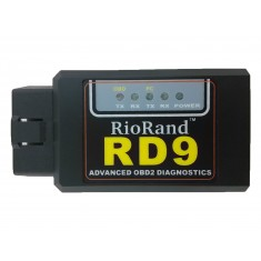 RioRand (TM) RD9 bluetooth OBDII OBD2 Diagnostic Scanner-Android compatible