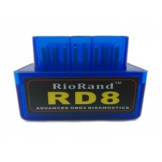 RioRand (TM) RD8 Super Mini bluetooth OBDII OBD2 Diagnostic Scanner-Android compatible