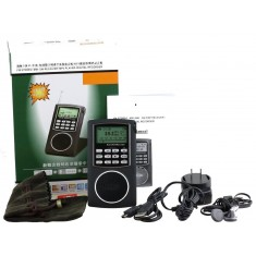 RioRand®Ultra-Thin AM/FM/SW Radio with 4GB MP3 Player, Voice Recorder & E-book Reader