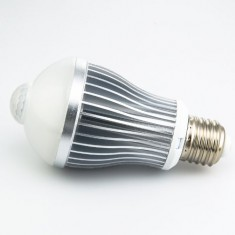 RioRand 8.1w LED Motion Sensor Induction Detection LED Lamp Light Bulb Warm White LED Lights