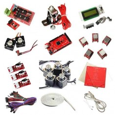 RioRand® 3D Printer Kit RepRap RAMPS 1.4 Mega2560 rev3 5* A4988 LCD MK2a HotEnd Belts