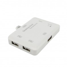 RioRand®Desktop Dock Connection Kit with 3 USB Ports HDMI 5V 2A for Samsung Galaxy S3 S4 Note2