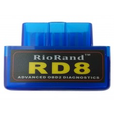 RioRand™ RD8 Super Mini bluetooth OBDII Diagnostic Scanner-Android compatible