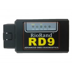 RioRand™ RD9 bluetooth OBDII OBD2 Diagnostic Scanner-Android compatible