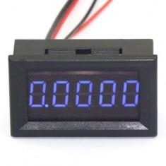 """RioRand 0.36"""" 5 Digit Built-in Current Shunt Digital DC Ammeter Amp Ampere Electric Meter 0-3.0000A Blue LED Tester"""