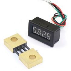 "RioRand 0.36"" Blue LED Digital Electric Ammeter Amper DC 0-300A Current Measure With Amp Shunt"