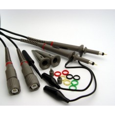 RioRand 2 X 60mhz Oscilloscope Clip Probes with Accessory Kit