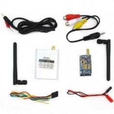 RioRand® 5.8G FPV 2000mW Wireless Audio Video Transmitter + 5.8GHz AV Receiver airplane