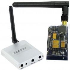 RioRand® 8CH 5.8G Mini Wireless FPV Transmitter Receiver Kit Real-time 400mW 2000m