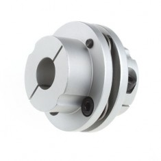 RioRand CNC 19x20mm Motor Shaft Coupler 19mm to 20mm Flexible Couplings OD 56x45mm