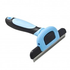 RioRand Deshedding Tool & Pet Grooming Tool for Small Medium & Large Dogs + Cats with Short to Long Hair