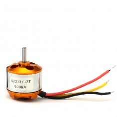 RioRand™ A2212 930KV Brushless Outrunner Motor 13T Gear w/ Prop Adapter For RC Airplane