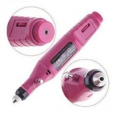 RioRand Pen Shape Electric Nail Drill Machine Art Salon Manicure File Polish Tool+6 Bits