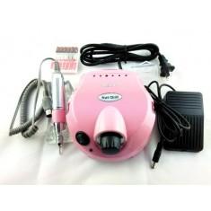 RioRand Pink Professional & Fast Nail Art Drill Electric File Acrylics Salon Equipment