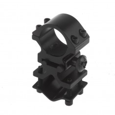 RioRand Tactical K185 Rifle Scope Barrel Mount 25.4mm Ring Adapter 20mm Weaver Picatinny Rail Converter