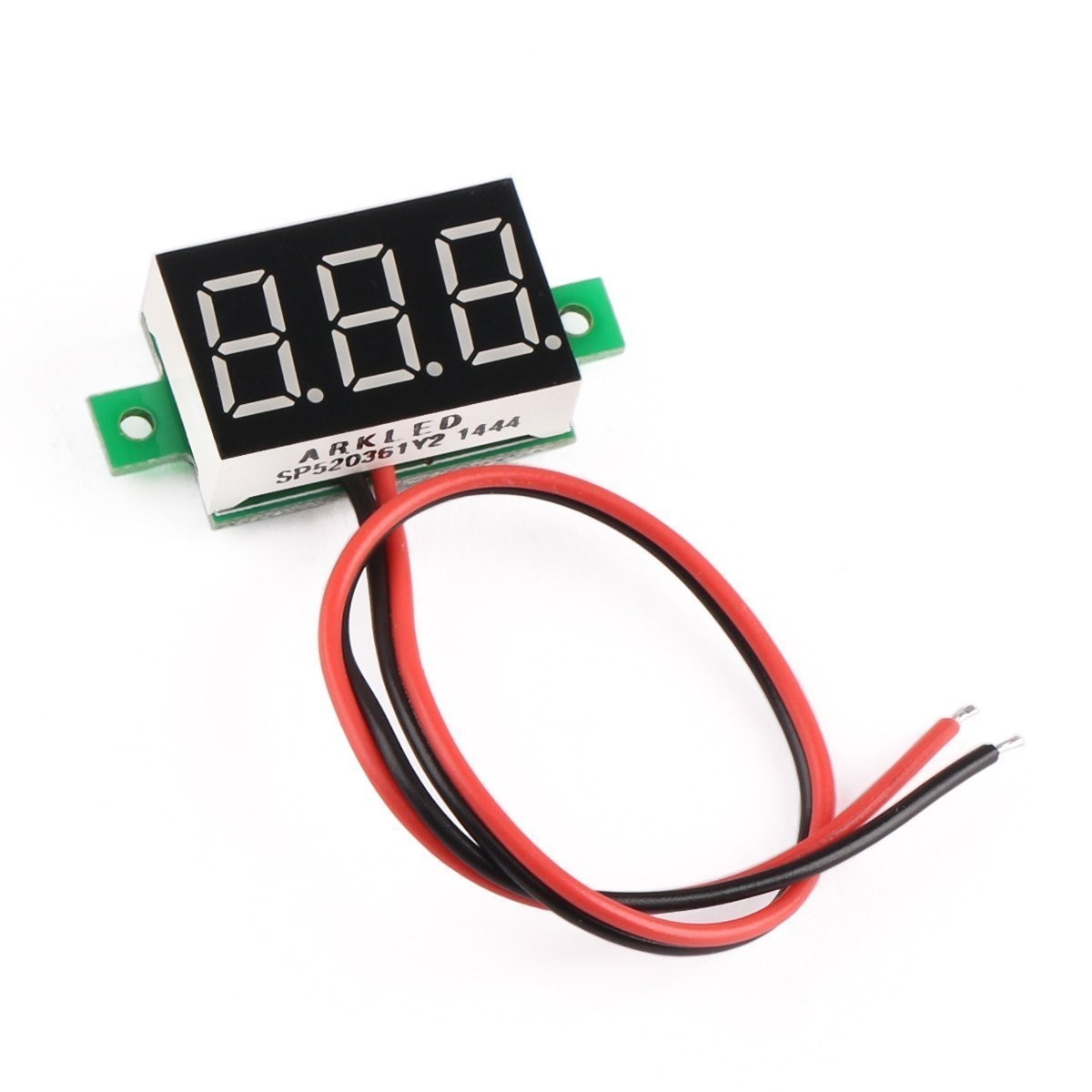 Riorand 036 Led Digital Voltmeter Electric Car Automotive Volts Auto Electrical Wiring Tester Lightbox Moreview