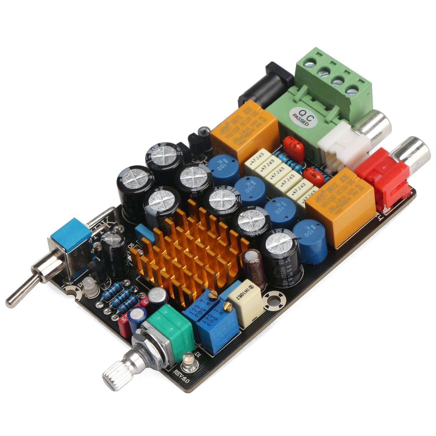 Riorand 12v Digital Amplifier 2ch Audio Stereo Power Amp Board Dc 11 25w Circuit Lightbox Moreview