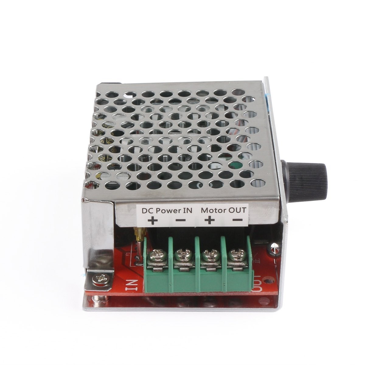 Riorand Pwm Dc Stepper Motor Speed Controller Pulse Width Modulation Is A Circuit To Control Uses Stepless Module 10 60v 20a 600w Switch Dimmer Governor Zoom Lightbox Moreview