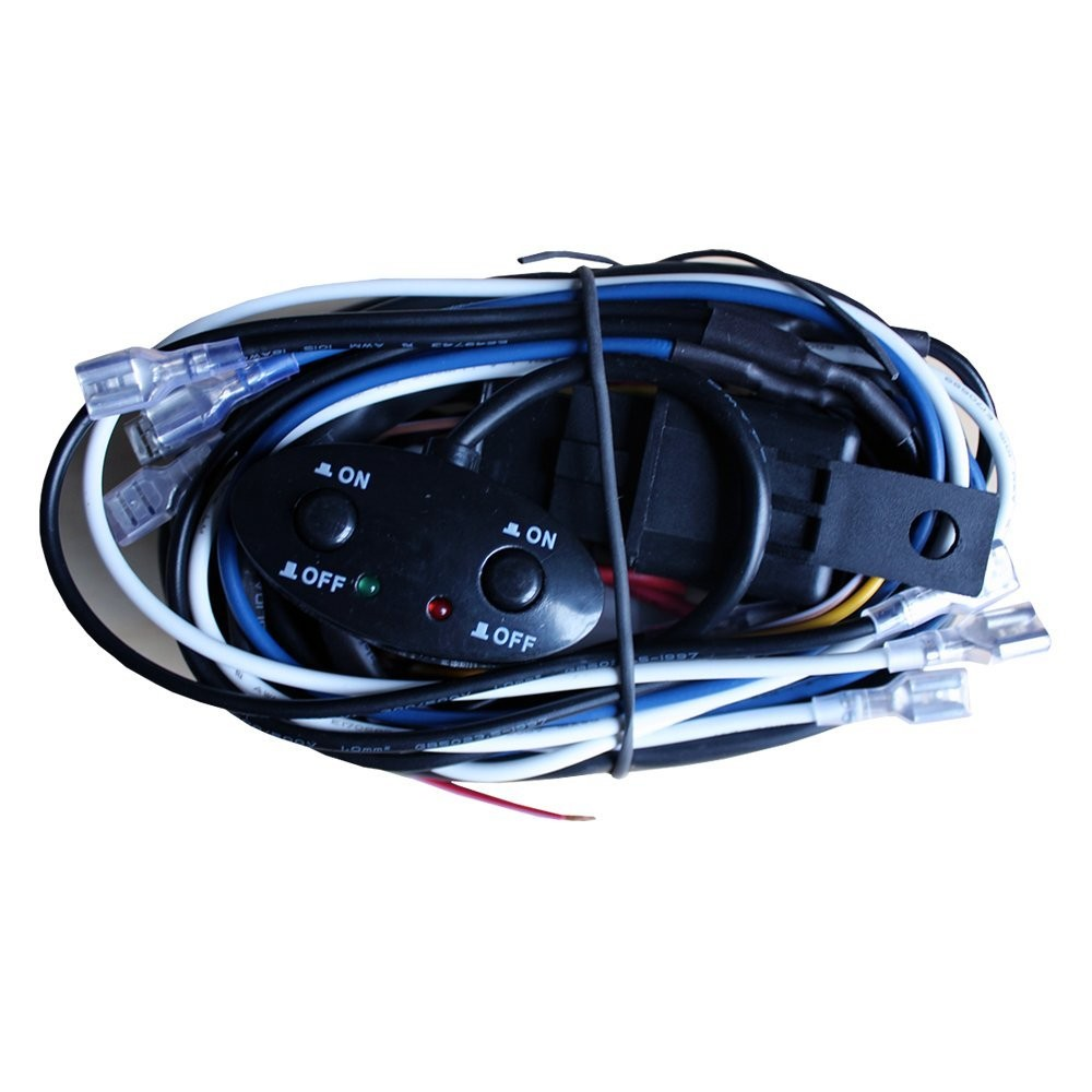 Riorand Rr Lml 004 Wire Resistanc Led Hid Wiring Harness Kit Car Lightbox Moreview