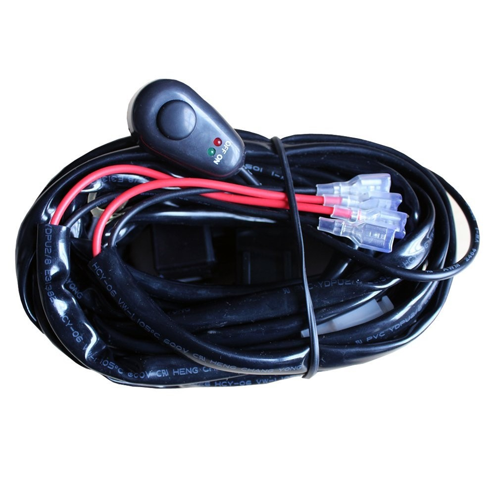 Riorand Rr Lml 003 Wire Resistanc Led Hid Wiring Harness Kit Car Lightbox Moreview