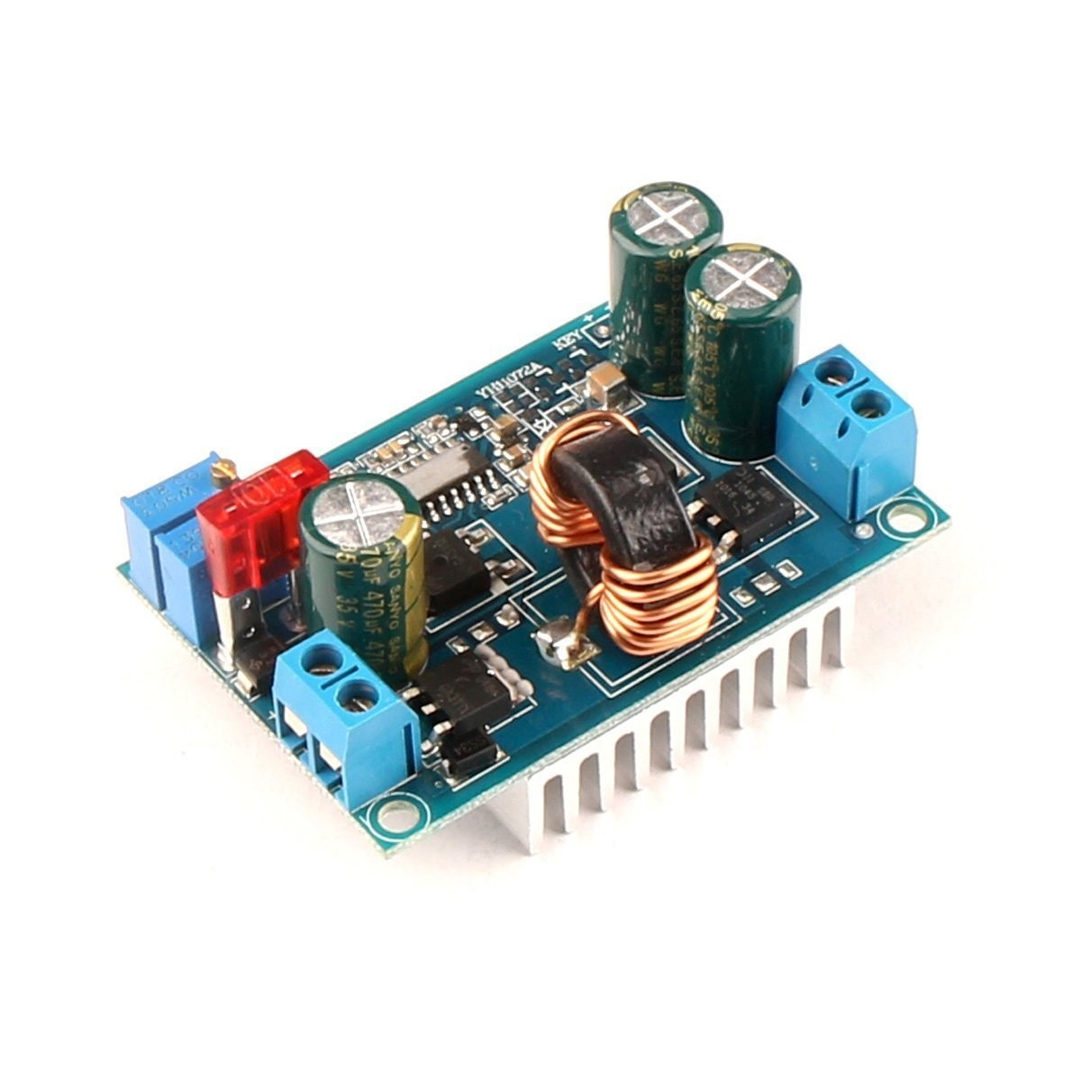 Riorand Dc Synchronous Boost Buck Converter Constant Voltage 12v To 32v For Car Audio Lightbox Moreview