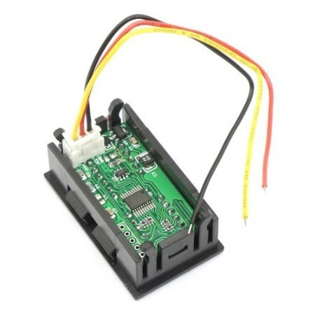 Riorand 0 36 5 Digit 0 33 000v 12v 24v Dc Voltmeter Digital Car