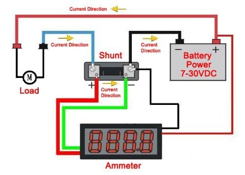 ammeter shunt wiring diagram schematics and wiring diagrams solar panel meter shunt diagram chevy alternator wiring