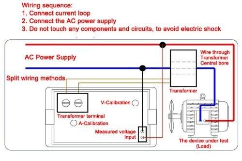 RioRand Digital Volt Ampere Amp Voltmeter Ammeter 100-300V 100A LCD on