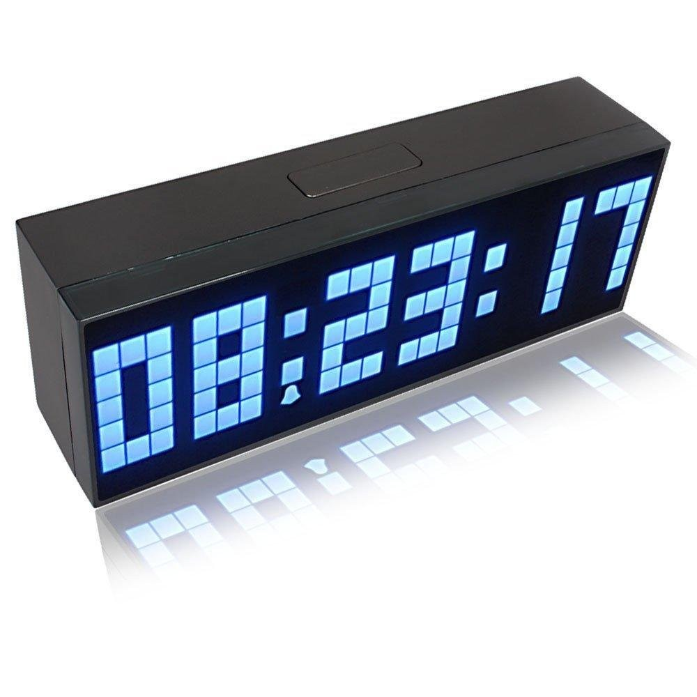 Riorand large big number jumbo led snooze wall desk alarm clock lightbox moreview lightbox moreview amipublicfo Gallery