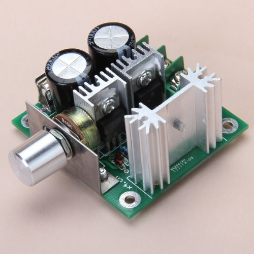 Hig RioRand 12V-40V 10A PWM DC Motor Speed Controller with Knob-High Efficiency