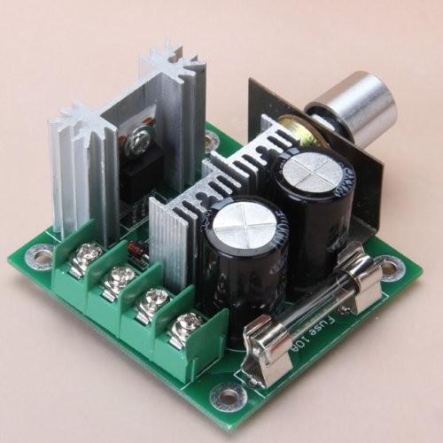 Riorand Tm 12v 40v 10a Pwm Dc Motor Speed Controller W Knob
