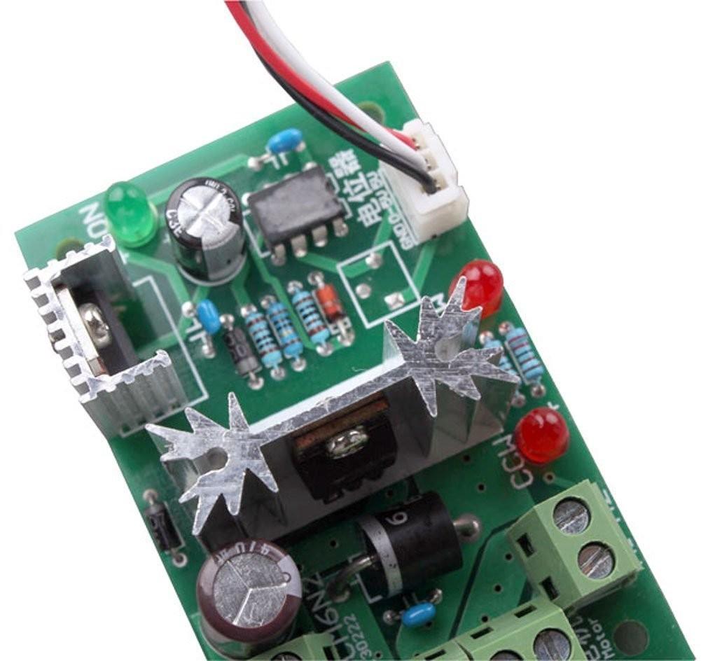 Riorand Upgraded Rrccm6nspc 150w 6v 12v 24v Reversing Switch Pwmmotorcontrollerwithforwardandreversejpg Adjustable Dc Motor Speed Controller Pwm Zoom Lightbox Moreview