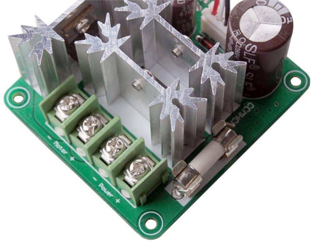 Riorand Upgraded Rrccmhcnspc Plc 6v 90v 15a 1000w Pulse Width Pwm Dc Modulation Motor Control Speed Regulation Controller Zoom Lightbox Moreview